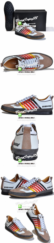 dsquared2鞋子_ID.94741|Sh-DS92022-wh-gr-l|DSquared2 新款休閒鞋-深受型男喜愛